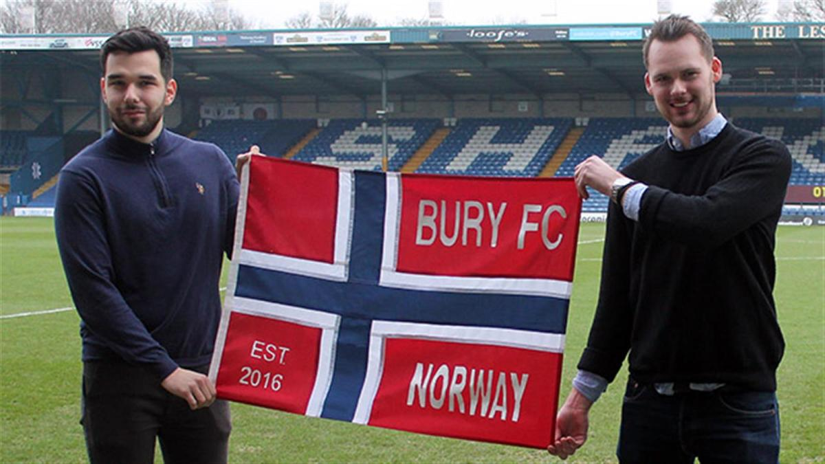 Bury Fans in Exile #1: Norway Fan Club!